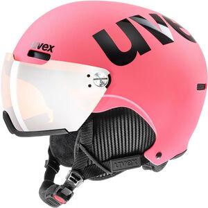 UVEX hlmt 500 Visor Helm pink matt pink matt