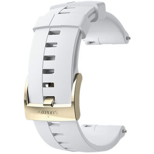 Suunto Athletic 4 Silicone Strap white/gold white/gold