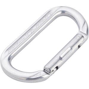 AustriAlpin Ovalock Snapgate Carabiner for safer belaying polished polished