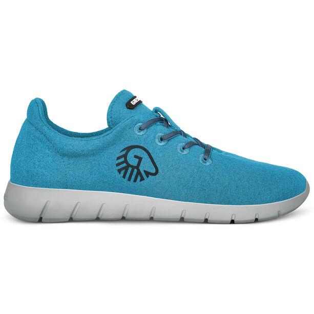 Giesswein Merino Wool Runners Herren cyan blue