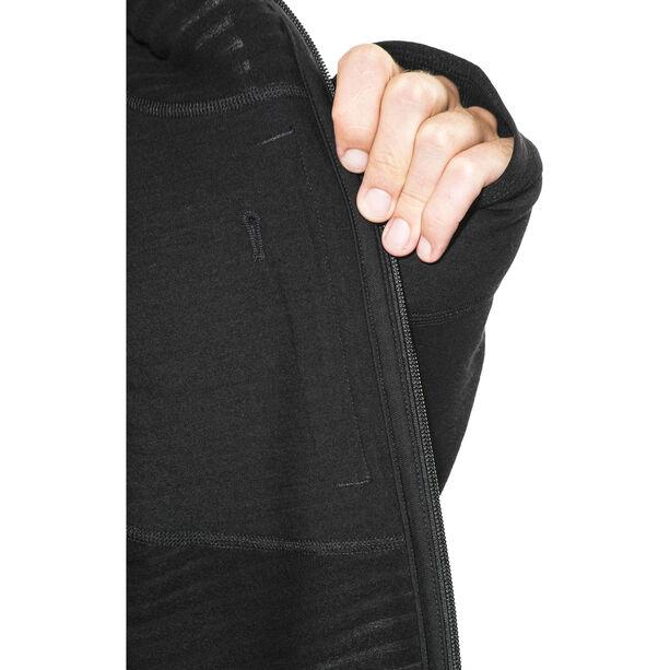 Icebreaker Descender LS Zip Jacket Herren black/black