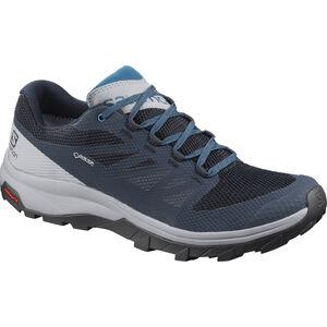 Salomon OUTline GTX Shoes Herren navy blazer/quarry/lyons blue navy blazer/quarry/lyons blue