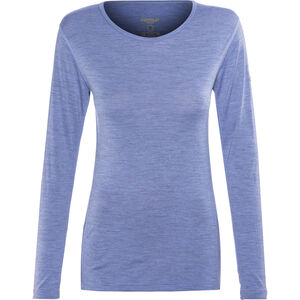 Devold Breeze Shirt Damen bluebell melange bluebell melange