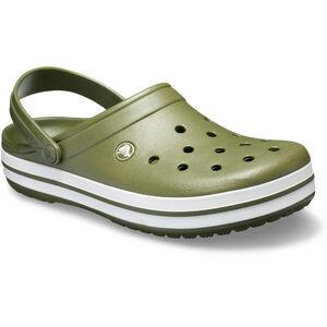 Crocs Crocband Clogs army green/white army green/white