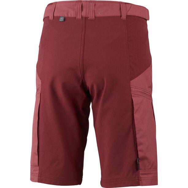 Lundhags Makke Shorts Damen garnet/dark red