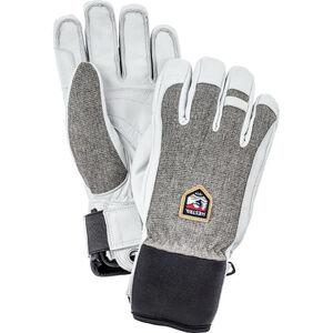 Hestra Army Leather Patrol 5 Finger Gloves light grey light grey