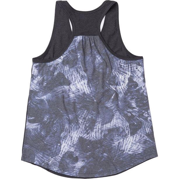 tentree Palmy All Over Print Pocket Tank Damen meteorite black/palmy meteorite