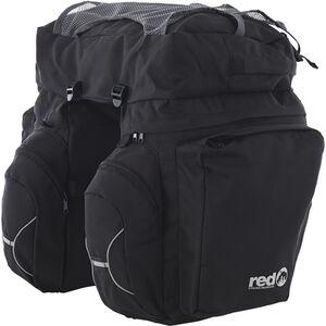 Red Cycling Products Touring Set Gepäckträgertasche schwarz schwarz