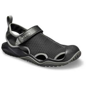 Crocs Swiftwater Mesh Deck Sandalen Herren black black