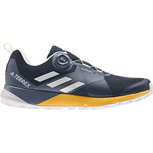 adidas TERREX Two Boa GTX Shoes Herren collegiate navy/grey one/active gold collegiate navy/grey one/active gold