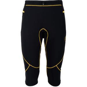 La Sportiva Nucleus 3/4 Tights Herren black/yellow black/yellow