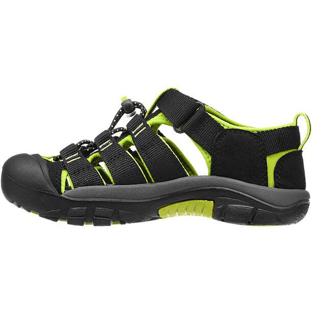 Keen Newport H2 Sandalen Kinder black/lime green