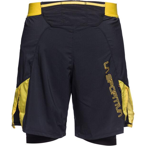 La Sportiva Velox Shorts Herren black/yellow