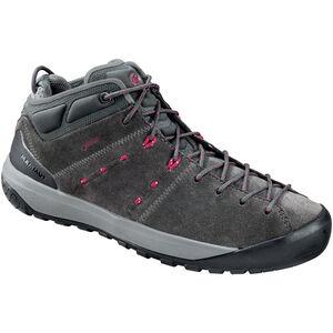 Mammut Hueco Mid GTX Shoes Damen graphite-beet graphite-beet