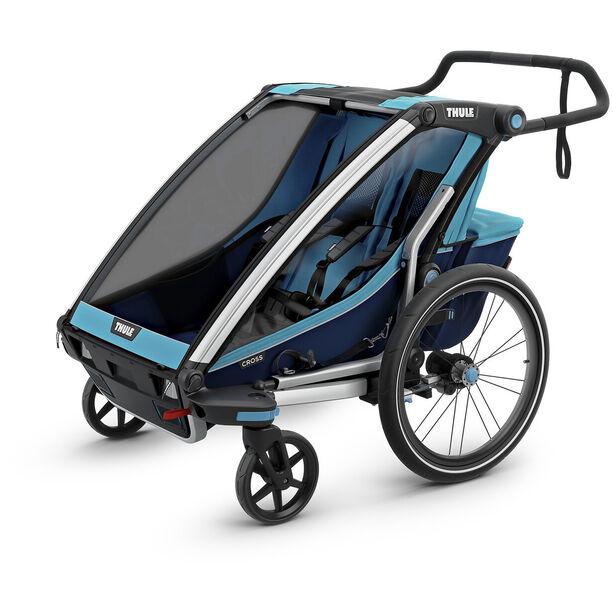 Thule Chariot Cross 2 Bike Trailer thule blue/poseidon