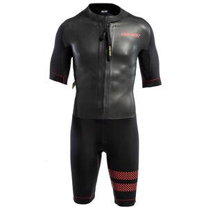 Colting Wetsuits Swimrun Go Wetsuit Herren black/red black/red