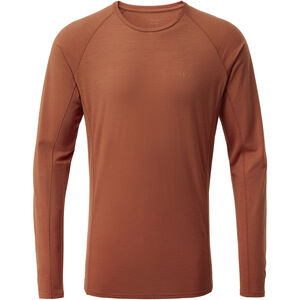 Rab Forge Langarm T-Shirt Herren red clay red clay