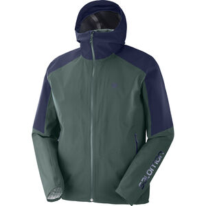 Salomon Outline Jacke Herren green gab green gab