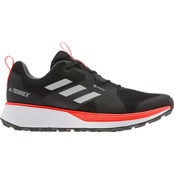 adidas TERREX Two GTX Schuhe Herren core black/grey two/solar red
