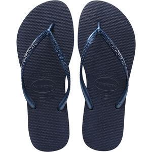 havaianas Slim Flips Damen navy blue navy blue