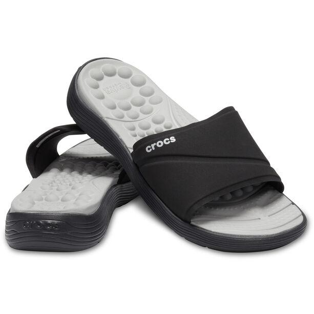 Crocs Reviva Slides Damen black/black