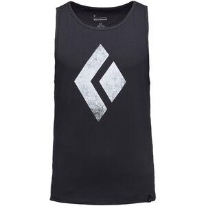 Black Diamond Chalked Up Tank Herren black black