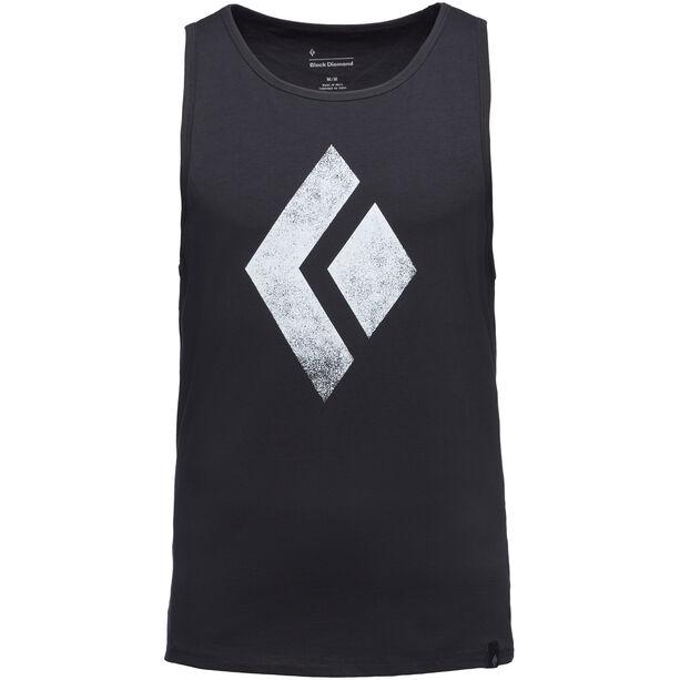 Black Diamond Chalked Up Tank Herren black