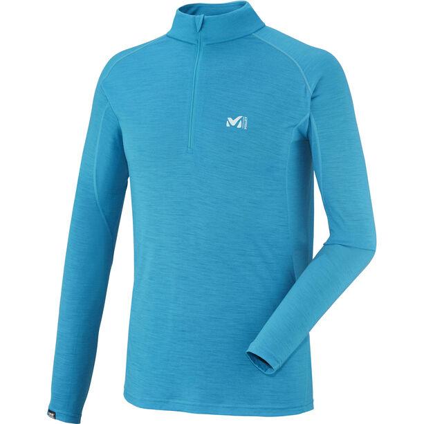 Millet C Wool Blend 150 Zip LS Herren electric blue