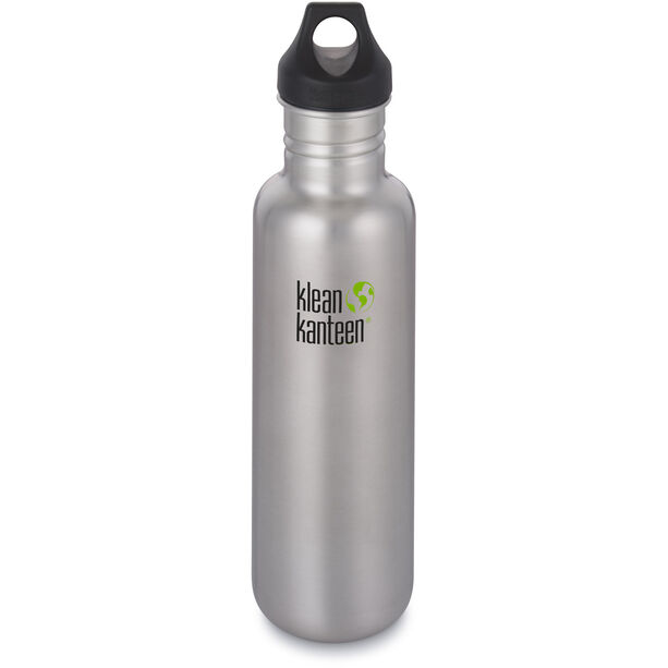 Klean Kanteen Classic Bottle Loop Cap 800ml 2019 brushed stainless