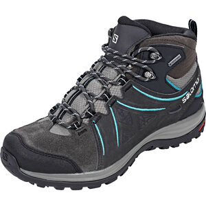Salomon Ellipse 2 Mid LTR GTX Shoes Damen phantom/castor gray/aruba blue phantom/castor gray/aruba blue