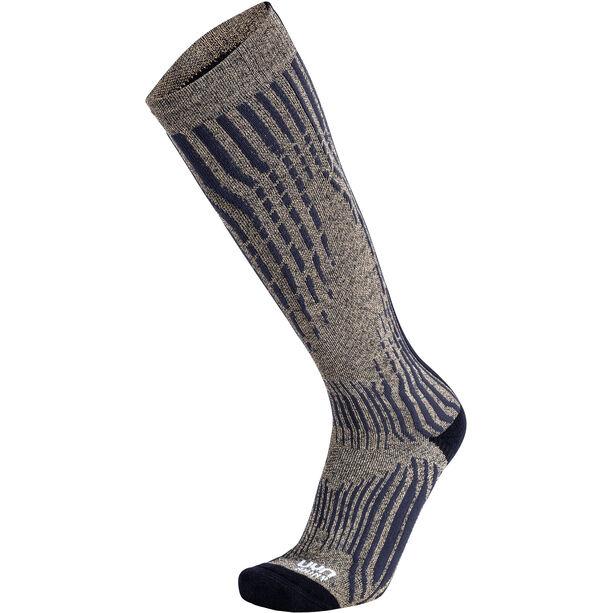 UYN Shiny Kaschmir Ski Socken Herren celebrity gold