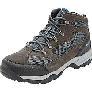 Hi-Tec Storm WP Shoes Herren charcoal/grey/majolica blue charcoal/grey/majolica blue