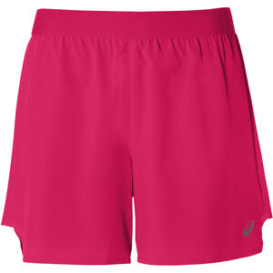 "asics 2-N-1 5"" Shorts Damen laser pink/performance black laser pink/performance black"