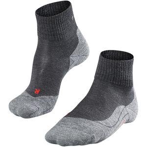 Falke TK5 Short Trekking Socken Damen asphalt melange asphalt melange