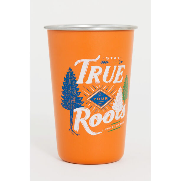 United By Blue Stay True Stainless Steel Tumbler 473ml orange