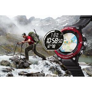 CASIO PRO TREK SMART WSD-F21HR-RDBGE Smartwatch Men Red Red