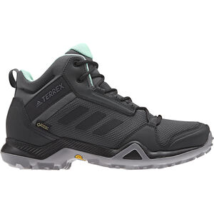 adidas TERREX AX3 Mid GTX Shoes Damen grey five/core black/clemin grey five/core black/clemin
