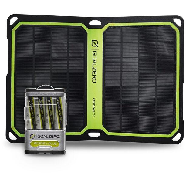 Goal Zero Guide 10 Plus Solar Kit Nomad7+ silver