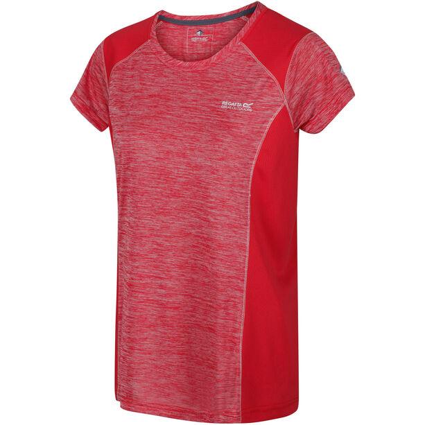 Regatta Breakbar V T-Shirt Damen red sky