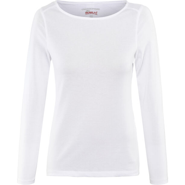 Craghoppers NosiLife Erin II Longsleeved Top Damen Optic White