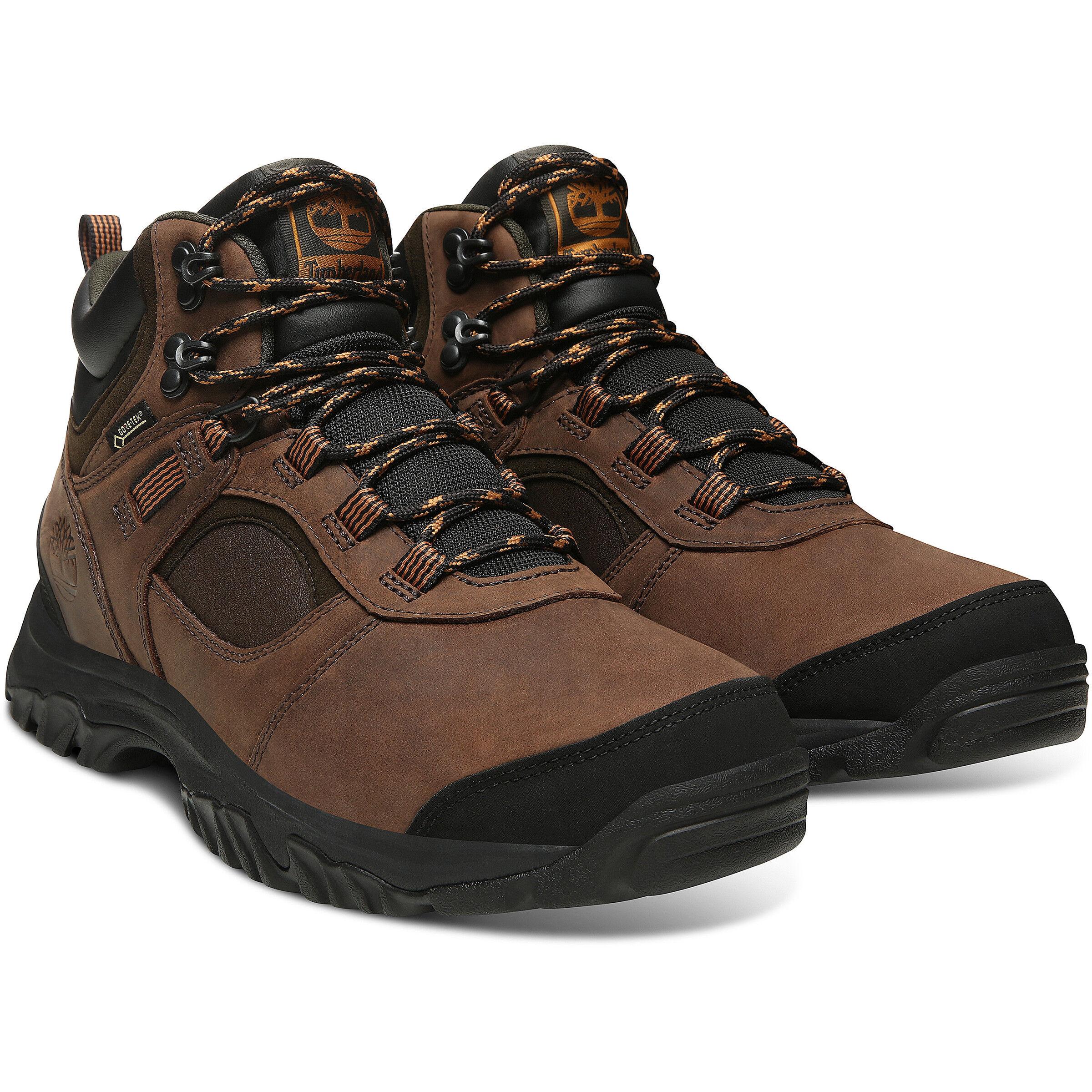 Mid Shoes Timberland MtMajor GTX Herren brown Leather v80mNwOn