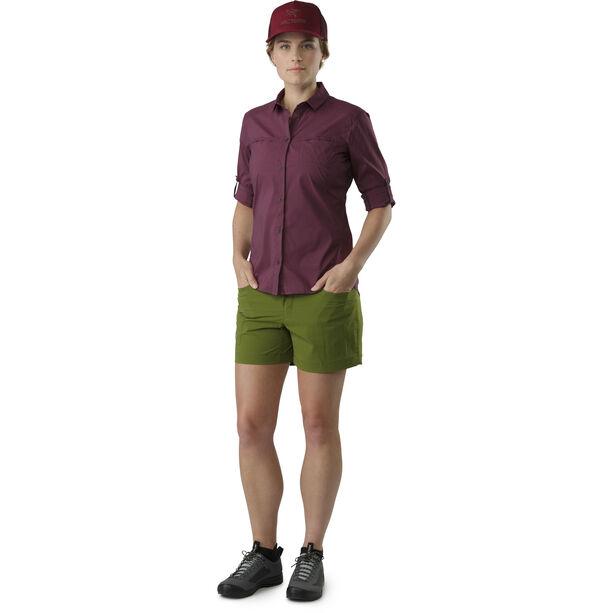 Arc'teryx Fernie LS Shirt Damen purple reign