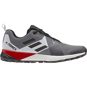 adidas TERREX Two Shoes Herren grey three/core black/active red grey three/core black/active red