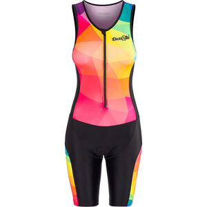 Dare2Tri Limited Funky Sleeveless Trisuit Damen black