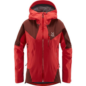 Haglöfs L.I.M Touring Proof Jacke Damen hibiscus red/maroon red  hibiscus red/maroon red
