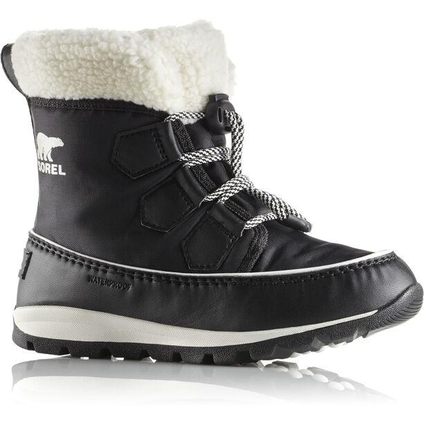 Sorel Whitney Carnival Boots Kinder black/sea salt