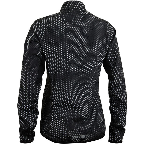 Salming Ultralite 3.0 Jacket Damen black all over print