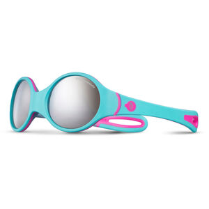 Julbo Loop Spectron 4 Sunglasses 2-4Y Kinder turquoise/gray/fluorescent pink-gray flash silver turquoise/gray/fluorescent pink-gray flash silver