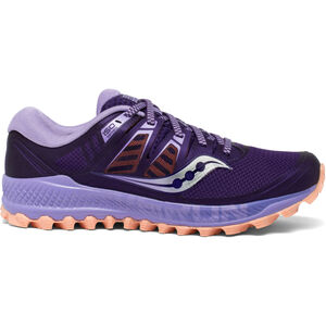 saucony Peregrine ISO Schuhe Damen purple/peach purple/peach