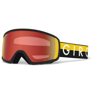 Giro Scan Snow Goggles black-yellow throwback w amber scarlet black-yellow throwback w amber scarlet